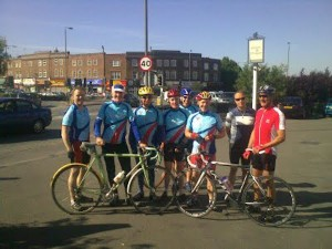 Clarencourt cycling club ride leaders
