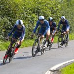 Cycling team time trialling in surrey 2017